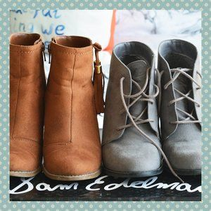 Call it Spring Bundle of 2 Boots